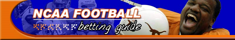 NCAA Football Betting Guide Odds
